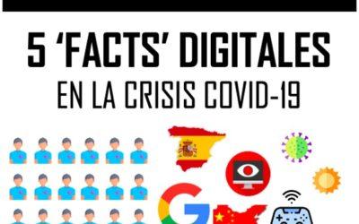 5 'facts' digitales de la crisis COVID-19
