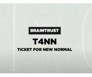 """#T4NN · """"Ticket for New Normal"""""""